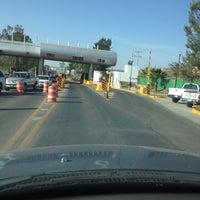 Photo taken at Caseta de Cuota Guanajuato by Fer Z. on 3/5/2012