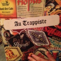 Photo taken at Au Trappiste by Celeste B. on 7/14/2012