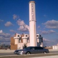 Photo taken at Baltimore BRESCO Smokestack / Wheelabrator Incinerator by Brittainy D. on 3/20/2012
