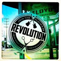 Photo taken at Floyd's 99 Barbershop by Ken V. on 2/12/2012