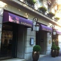 Photo taken at Hôtel Baltimore by Olivier R. on 5/25/2012