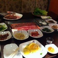 Photo taken at Sariwon Korean BBQ Restaurant 사리원 by Stephen on 4/8/2012