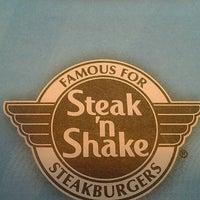 Photo taken at Steak 'n Shake by Ashley R. on 3/11/2012