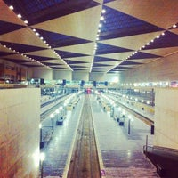 Photo taken at Estación de Zaragoza - Delicias by J. F. J. on 8/17/2012