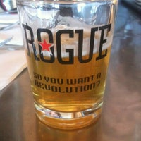 Photo taken at Rogue Ales Brewer's on the Bay by Rusty B. on 9/11/2012