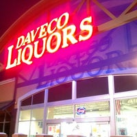 Photo taken at Daveco Liquors by James L. on 2/9/2012