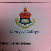 Photo taken at Liverpool College by Анастасия М. on 9/4/2012