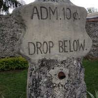 Photo taken at Coral Castle by Dave on 3/4/2012