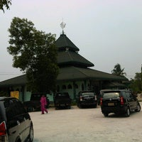 Photo taken at Masjid Habiburrahman by Bayu S. on 8/10/2012