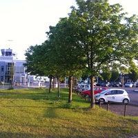 Photo taken at Flughafen Paderborn/Lippstadt (PAD) by Jan G. on 5/24/2012