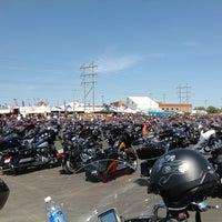 Photo taken at Black Hills Harley-Davidson by Robert A. on 8/6/2012