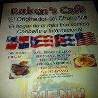 Photo taken at Rubens Cafe by Nerdote on 4/21/2012