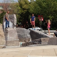 Photo taken at Broyhill Fountain by E-RoK on 8/12/2012