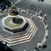 Photo taken at Piazza della Madonna dei Monti by Konstantin K. on 7/18/2012