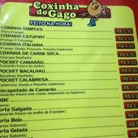 Photo taken at Coxinha do Gago by Gabriel G. on 5/25/2012
