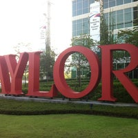 Photo taken at Taylor's University Lakeside Campus by Norliana R. on 4/18/2012