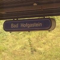 Photo taken at Bahnhof Bad Hofgastein by austrianpsycho on 7/23/2012