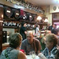 Photo taken at La Bodegueta de Cal Pep by Oscar N. on 8/26/2012