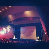 Photo taken at Teatro de la Ciudad by Alvaro on 8/25/2012