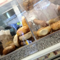 Photo taken at Hot Bagels & Bialys by Paul V. on 4/6/2012