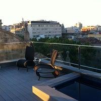 Photo taken at Hotel Bagués by Roberta M. on 6/21/2012