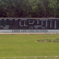 Photo taken at Ebro Greyhound Park by Gary P. on 5/24/2012