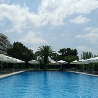 Photo taken at Domotel Xenia Volos by Dimitris N. on 7/24/2012