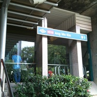 Photo taken at Ang Mo Kio MRT Station (NS16) by Suwan P. on 7/15/2012