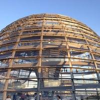 Photo prise au Coupole du Reichstag par Andres le9/1/2012