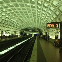 Photo taken at Smithsonian Metro Station by Rafael A. on 7/26/2012