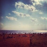 Photo taken at Пляж в Парке 300-летия by Vitaly I. on 7/29/2012