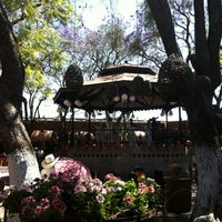 Photo taken at San Pedro Tlaquepaque by Ticiana N. on 4/7/2012