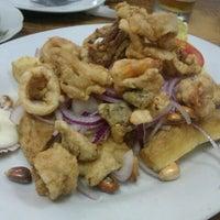 Photo taken at Lobo de Mar Otani by Angela R. on 9/8/2012