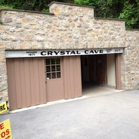 Photo taken at Crystal Cave by James B. on 5/13/2012