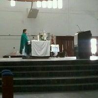 Photo taken at Catedral Metropolitana de Nossa Senhora da Apresentação by Wober R. on 2/7/2012