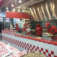 Photo taken at Five Guys by Will I. on 4/11/2012