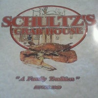 Photo taken at Schultz's Crab House by Maggie F. on 6/10/2012