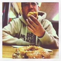 Photo taken at Donut King by Bella B. on 4/11/2012