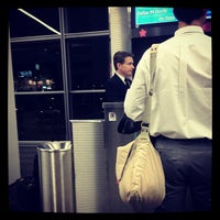 Photo taken at Gate B73 by Justin H. on 3/28/2012