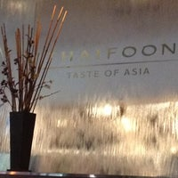Photo taken at Thaifoon Taste of Asia by Jorge J. on 5/24/2012