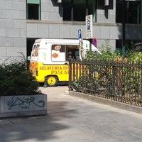 Photo prise au Square de Meeûs par Nadia le8/14/2012