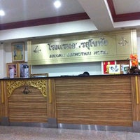 Photo taken at Amorn Sukhothai Hotel by Tim J. on 8/30/2012
