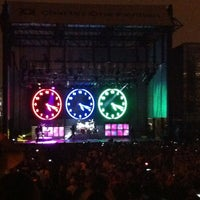 Photo taken at Huntington Bank Pavilion at Northerly Island by Joe B. on 6/25/2012