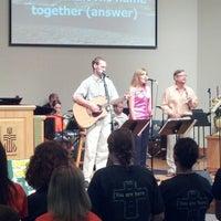 Photo taken at Pine Ridge Presbyterian by Daniel B. on 8/12/2012