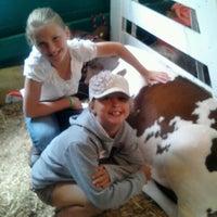 Photo taken at Calhoun County Fairgrounds by Allison K. on 8/13/2012