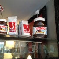 Photo taken at La Stazione Coffee & Wine Bar by Jen C. on 3/19/2012