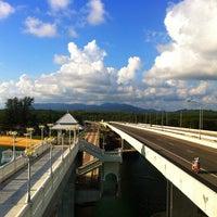 Photo taken at Sarasin Bridge by Weerasak P. on 5/20/2012