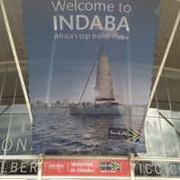 Photo taken at Durban Exhibition Centre by Vincent P. on 5/15/2012