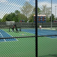 Photo taken at Atkins Tennis Center by Amrit A. on 4/22/2012