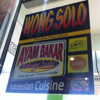 Photo taken at Ayam Bakar Wong Solo by Jim O. on 6/15/2012